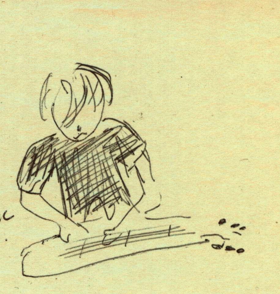 Boo Reiners Sketch by Rebecca Turner