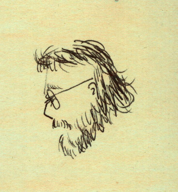 Scott Anthony Sketch by Rebecca Turner